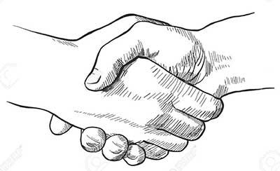 بهترین روش دست دادن