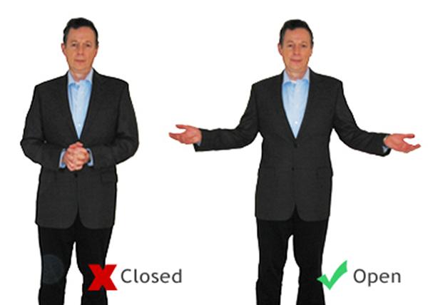 زبان بدن حرفه ای در سخنرانی