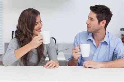 بهترین رفتار با شوهر کم حرف