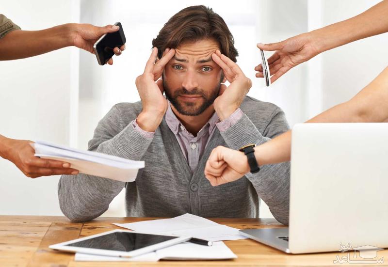 راه کنترل استرس در محیط کار
