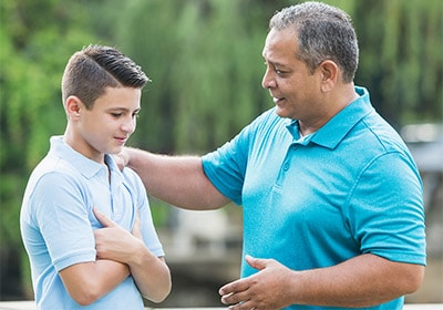 نکاتی برای والدینی که فرزندشان در سن بلوغ است